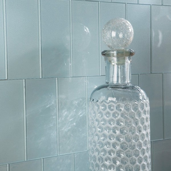 Shop Aspect 3x6 Inch Glacier Decorative Wall Tile 8 Pack