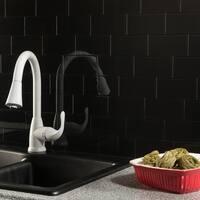 Aspect 3x6-inch Ebony Decorative Wall Tile (8-pack)