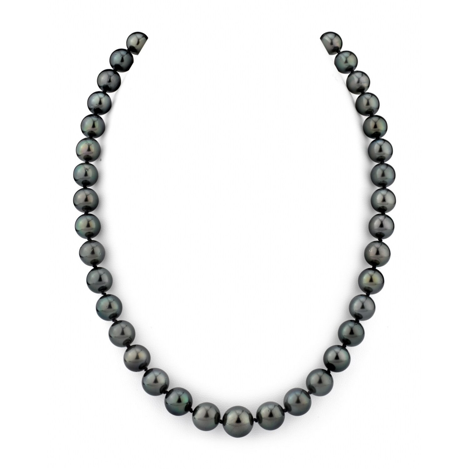 """8-9 Mm Gray Baroque Freshwater cultured pearl necklace 50/"""" AAA"""