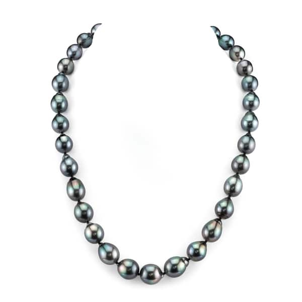594308c672761 Shop Radiance Pearl 14k Gold Baroque Tahitian South Sea Pearl ...