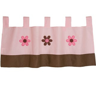 Pam Grace Creations Pam's Petals Window Curtain Valance