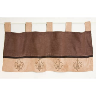 Pam Grace Creations Mocha Window Curtain Valance