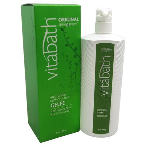 Vitabath Original Spring Green Moisturizing 32-ounce Bath & Shower Gel