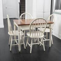 Christopher Knight Home Willie Creek 5-piece Spindle Wood Dining Set with Leaf Extension