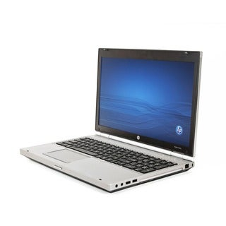 HP Elitebook 8560P 15.6-inch 2.5GHz Intel Core i5 16GB RAM 256GB SSD Windows 7 Laptop (Refurbished)