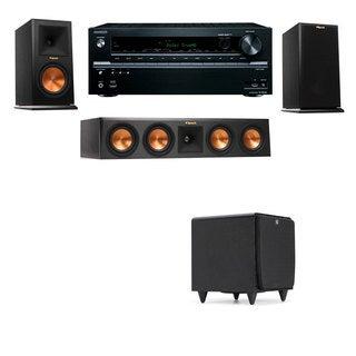 Klipsch RP-160M-E Monitor Speaker 3.1 SDS12 Onkyo TX-NR646