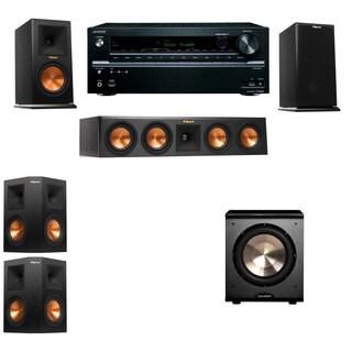 Klipsch RP-160M-E Monitor Speaker 5.1 PL-200 Onkyo TX-NR646