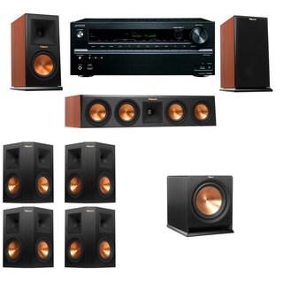 Klipsch RP-160M-channel Monitor Speaker 7.1 R112SW Onkyo TX-NR646