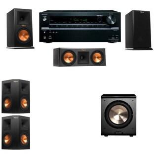 Klipsch RP-150M-E Monitor Speaker 5.1 PL-200 Onkyo TX-NR646