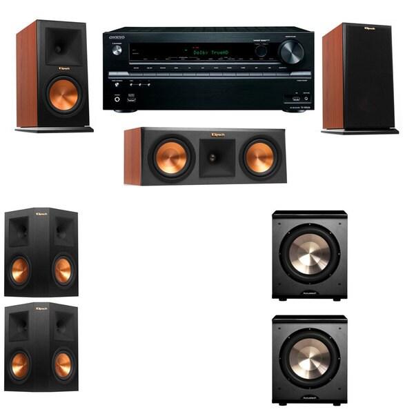 Klipsch RP-150M-channel Monitor Speaker 5 2 PL-200 Onkyo TX-NR646