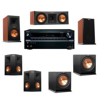 Klipsch RP-150M-channel Monitor Speaker 5.2 R112SW Onkyo TX-NR646
