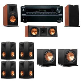 Klipsch RP-150M-channel Monitor Speaker 7.2 R112SW Onkyo TX-NR646