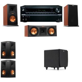Klipsch RP-150M-channel Monitor Speaker 5.1 SDS12 Onkyo TX-NR646