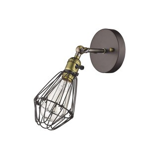 Chloe Loft/ Industrial 1-light Oil Rubbed Bronze Wall Sconce