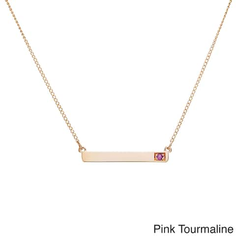 4498450be Buy Pendant, Pink Gemstone Necklaces Online at Overstock | Our Best ...