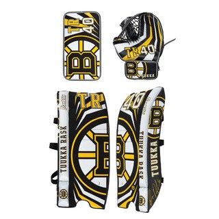 Franklin Sports Tuukka Rask Goalie Equipment Set