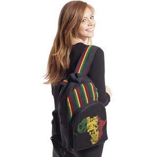 Rasta African Lion Hemp Blend Backpack (Nepal)
