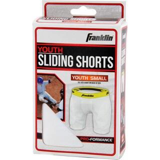 Franklin Sports Small Youth Sliding Shorts