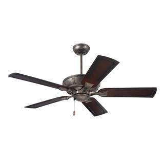 Emerson Welland 54-inch Vintage Steel Indoor/Outdoor Ceiling Fan - Silver