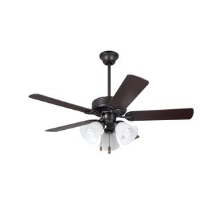Emerson Pro-Series II Oil Rubbed Bronze 42-inch Traditional Ceiling Fan with Reversible Blades