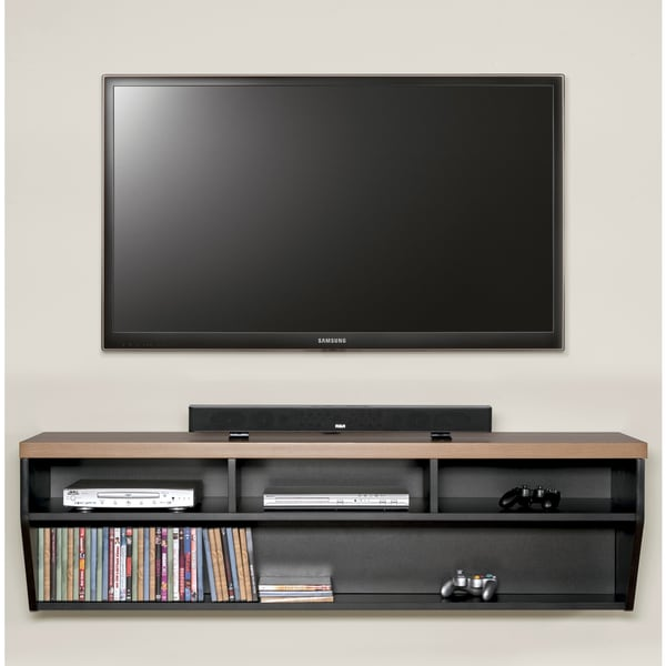 Shop Arced 60-inch Wall Mount TV Console - Ships To Canada