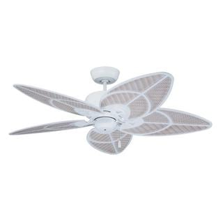 Emerson Batalie Breeze 52-inch Satin White Indoor/Outdoor Ceiling Fan