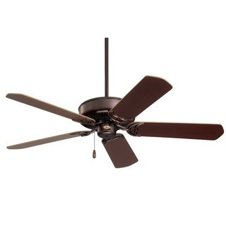 Emerson Designer 52-inch Oil Rubbed Bronze Traditional Energy Star Ceiling Fan with Reversible Blades