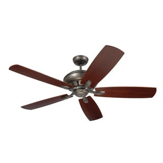 Emerson Crofton 58-inch Vintage Steel Traditional Transitional Ceiling Fan with Reversible Blades