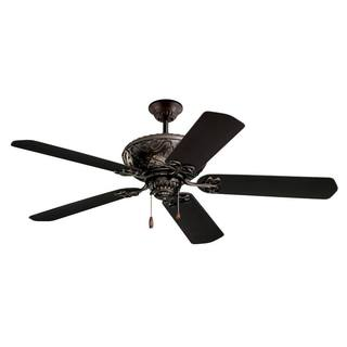 Emerson Devonshire 52-inch Oil Rubbed Bronze Traditional Indoor/Outdoor Ceiling Fan