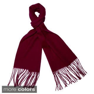 Cashmere/ Wool Blend Waterweave Scarf|https://ak1.ostkcdn.com/images/products/10518223/P17602088.jpg?impolicy=medium