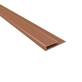 Fasade 4-foot Argent Copper Large Profile J-Trim