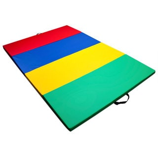Mixed Rainbow Children's and Gymnastics 4-foot x 6-foot Tumbling Mat