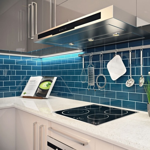 Dark Teal Subway Tiles 5 5 Square Feet 44 Pieces Per