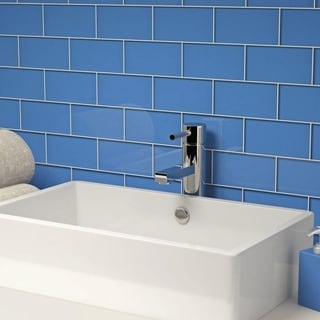 Azure Subway 5.5 Square Foot Tiles (44 Pieces per Unit)