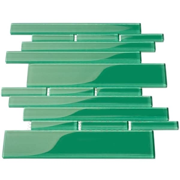 Emerald Green Club Piano Tiles (7.65 Square Feet) (Case of 11 Sheets)