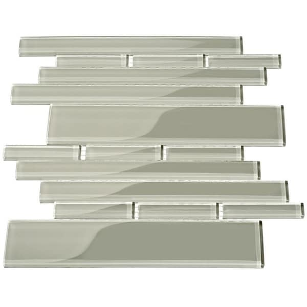 Light Grey Club Piano Tiles (7.65 Square Feet) (Case of 11 Sheets)