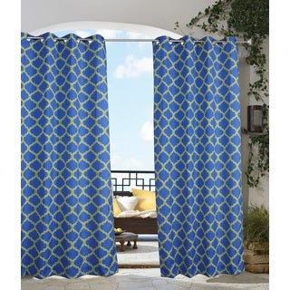 Arbor Outdoor Voile Curtain Panel