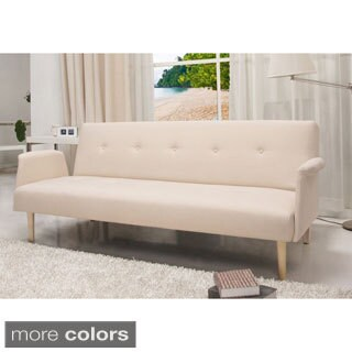 SB-9014 Contemporary Home Design Beige Fabric Sofa Bed