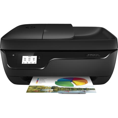 HP Officejet 3830 Inkjet Multifunction Printer - Color