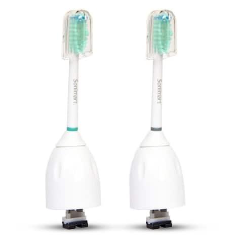 Brushmo Replacement Toothbrush Heads for Philips E-Series HX7022-2pk