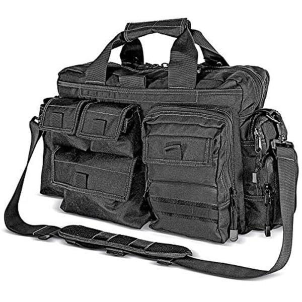Kilimanjaro Tectus Tactical Briefcase Conceal Carry Bag Blk