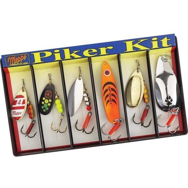 Mepps Piker Kit Plain Lure Assortment