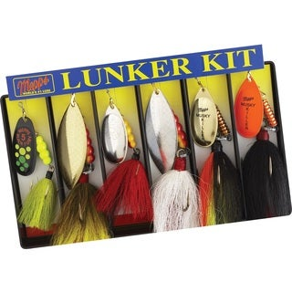 Mepps Lunker Kit Dressed Lure Assortment