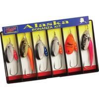 Mepps Alaska Bonanza Kit Plain Single Hook Lure Assortment