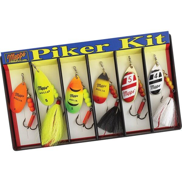 Mepps Piker Kit #4 and #5 Aglia Assortment