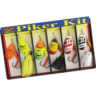 Mepps Piker Kit #4 and #5 Aglia Assortment