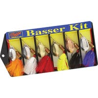 Mepps Basser Kit Dressed #3 Aglia Assortment