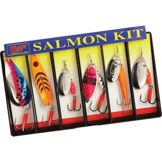 Mepps Salmon Kit Plain Lure Assortment