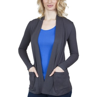 Steven Craig Apparel Open Front Cardigan with Pockets