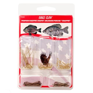 Eagle Claw Hook Assortment Panfish/Crappie (Per 80)